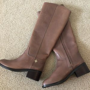 NWT Tory Burch Leather Boots
